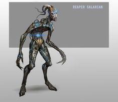 Reaper Salarian by AndrewRyanArt.deviantart.com on @deviantART