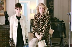 Carey Mulligan stars as Jenny and Rosamund Pike stars as Helen in Sony Pictures Classics' An Education (2009). Photo credit by Kerry Brown.Costume Design by Odile Dicks-Mireaux