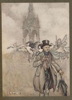 Arthur Rackham PeterPan 1907