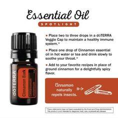 doTERRA Cinnamon Essential Oil Uses