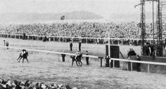 My Babu (FR) winning the 1947 Champagne Stakes