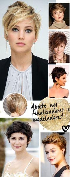 Ideas how to style short hair pixie bobs Short Pixie, Short Hair Cuts, Short Hair Styles, Clip In Extensions, How To Make Hair, Pixie Hairstyles, Mi Long, Cut And Color, Hair Dos