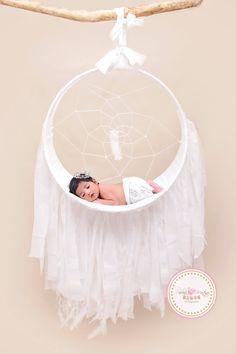 Bebé grande sueño Catcher fotografía Prop Prop por PMPDreamCatchers