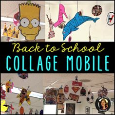 The Collage Mobile: This is a great back to school activity to get to know your students at the beginning of a new term. It can also be used throughout the year. We've added new collages for each unit so by the end of the year or term, students are left with memories of what we learned throughout the year. This IS included in the following mega bundle: ALL of my BACK TO SCHOOL RESOURCES GROWING BUNDLE....