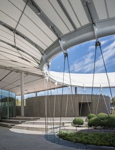 View full picture gallery of TheCamp Roof Architecture, Architecture Details, Stadium Architecture, Architecture Graphics, Fabric Structure, Shade Structure, Tent Design, Roof Design, Arquitetura