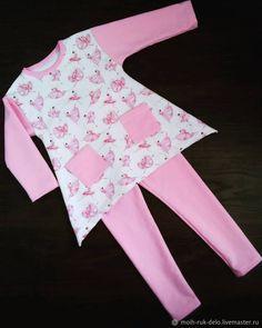Купить Комплект Балерины - комбинированный, туника, туника для девочки, комплект, балерина, индивидуальный дизайн, одежда