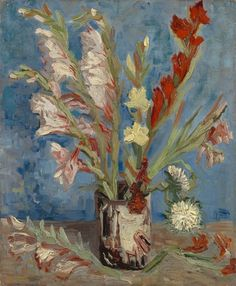 Vase with Gladioli and Chinese Asters - Van Gogh Museum