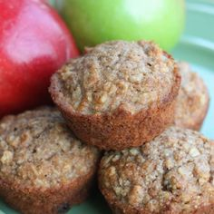 Healthy Applesauce Oat Muffins | Tastes Better From Scratch