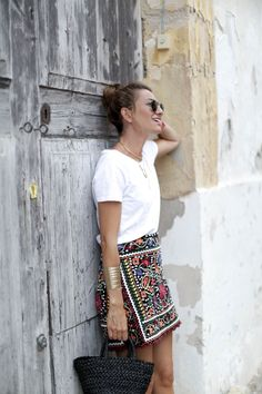 bartabac ibiza bimba y lola sandals zara skirt falda a bicycletteblog moda