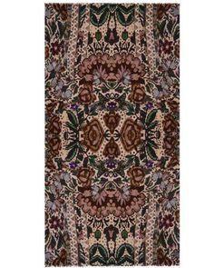 Canvas cashmere scarf