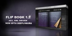 XML Flip Book / version by Kuba Gaj, via Behance
