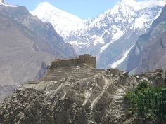 The Hunza Valley in Pakistan is commonly believed to be Hilton's inspiration for Shangri-La, of course I fertile valley in Tibet would be better, but if this is as close as I can get I'll take it!