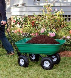 Heavy-Duty Rolling Garden Dump Cart by Plow & Hearth, http://www.amazon.com/dp/B009ZH3M40/ref=cm_sw_r_pi_dp_8XDzrb0STA0ZF