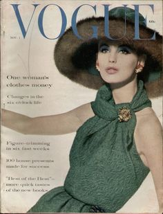 Dorothea McGowan, Vogue US, November 1960