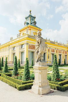 Wilanow Palace in Warsaw, Poland Monuments, Visit Poland, Ukraine, Poland Travel, Danzig, Warsaw Poland, Central Europe, Krakow, Portugal