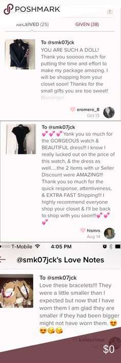 Thanks to my ppf's for sending their love ❤️ It truly means a great deal to me that my fellow Poshers are happy with their purchase. It's a blessing to be entrusted to provide authentic, good quality items and represent them as accurately as humanly possible. You can buy with confidence that you are getting great products for a fraction of the price. Thank you in advance for visiting and shopping my friendly closet. Makeup Foundation