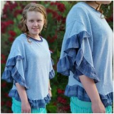 Plaid ruffle top Sha