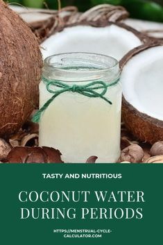 Coconut water does not stop menstruation. Its phytoestrogens help to regulate the menstrual cycle.