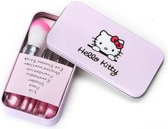 Hello Kitty Makeup Brush Kit