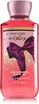 A Thousand Wishes Shower Gel - Signature Collection - Bath & Body Works -- also the Body Lotion, please!