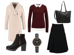Lady Mode. Dressy autumn street style look.