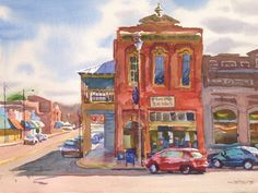 Square Books Oxford. Wyatt Walters Gallery Mississippi Delta, Places Ive Been, Oxford, Gallery, Books, Painting, Art, Art Background, Libros