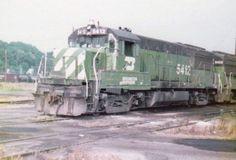 Burlington Northern, Model Trains