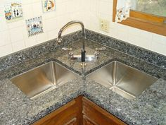 Exceptional Kitchen Remodeling Choosing a New Kitchen Sink Ideas. Marvelous Kitchen Remodeling Choosing a New Kitchen Sink Ideas. Corner Sink Kitchen, Corner Sink, Modern Kitchen Sinks, Traditional Kitchen Sinks, Luxury Kitchens, Kitchen Design, Kitchen Sink Design, New Kitchen, Luxury Kitchen