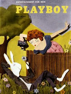 Playboy magazine cover May 1954