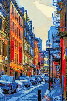 N. Boston Illustration