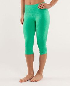 Lululemon In The Flow Crop Pants - I MUST have these!