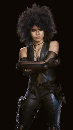 Free Zazie Beetz as Domino phone wallpaper by arealman Marvel Comics, Domino Marvel, Marvel E Dc, Marvel Universe, X Men, Deadpool, Zazie Beetz, Arte Black, Tv Girls
