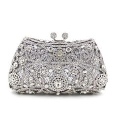 Evening Bags Clutches Purse Silver Gold