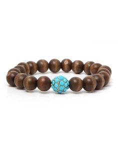 Wood Pop Bracelet I could make this