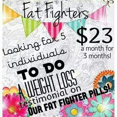 Fat fighters prevent the body from absorbing carbs and fats and can help…