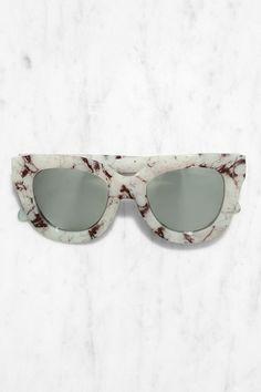 white marble. #eyeshade