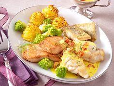 Weihnachtsessen mit Fisch - von Karpfen bis Zander - edelfischplatte-2  Rezept