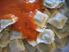 Ravioles caseros de carne y verdura - La cocina de ile