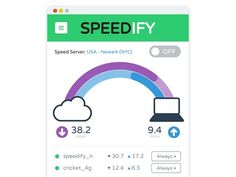 Speedify Internet Accelerator: 2-Yr Unlimited Subscription  #SpeedifyInternetAccelerator Put Your Internet into High Gear with a Combined WiFi, 3G/4G & Wired Network Super-Connection  Buy Now and Get 80% Off     KEY FEATURES Sp...