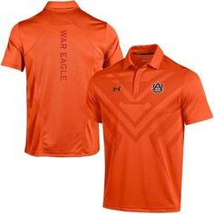 655d7da96ff Men s Under Armour Orange Auburn Tigers 2015 Coaches Sideline Scout Polo -   79.95 Auburn Baseball