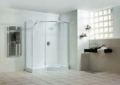 Shower Remodeling Rustic tub to shower remodel diy.Shower Remodel No Door Bathroom Ideas. Walk In Shower, Shower Doors, Shower Tub, Diy Shower, Shower Ideas, Small Bathroom, Bathroom Showers, Basement Bathroom, Bathroom Ideas