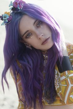 paperforests:  Chloe Norgaard by Lara Jade  Fairies have glittery tears….