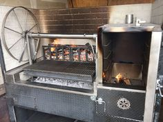 J&R Manufacturing - Custom Products Covered Outdoor Kitchens, Small Outdoor Kitchens, Outdoor Kitchen Patio, Outdoor Stove, Bbq Kitchen, Summer Kitchen, Bbq Firebox, Indoor Pizza Oven, Indoor Smoker