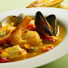 Bouillabaisse *** one of my favorite French dishes