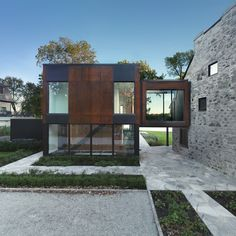The Bord-du-Lac Project by Henri Cleinge, Montreal | old + new