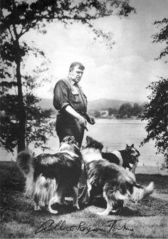 Albert Payson Terhune great storyteller & lover of Collies