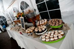 Dessert Table @ Pulz/Ball Fall wedding.