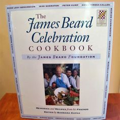 James Beard Celebration Cookbook Chef Memories 1st Edition DJ 1990 Recipes Barba