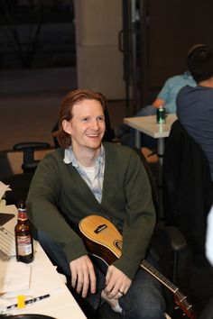 Little-known fact: interactive designer Todd is a pro at ukulele.