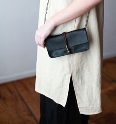 Jo for Mavenhaus Collective Dakota Clutch/Wallet in Midnight Green - Mavenhaus Collective HURRY! Only a few days left before it's gone forever...